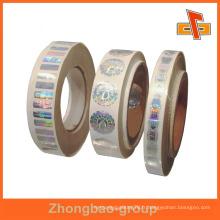 Guangzhou vendeur d'impression en gros et de matériel d'emballage auto-adhésif auto-adhésif disque blanc étiquette blanche