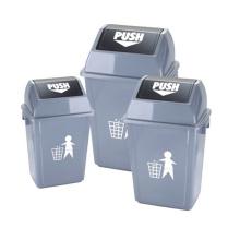 20/35/55 Liter Outdoor Push Waste Bin (YW0015)