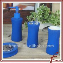 Conjunto de banho de revestimento de borracha cerâmica