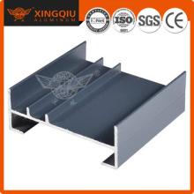 Profilés en aluminium coulissants, fournisseur de section d'extrusion en aluminium