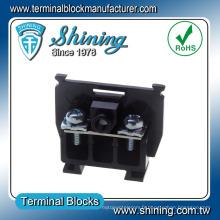 TS-015 Connecteur de bloc de bornes en plastique de 15 ampères monté sur rail
