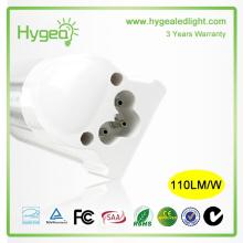 Высокое качество алюминия интегрированной t5 привело лампа 9W света 3 года гарантии 1200 мм t5 привело трубки