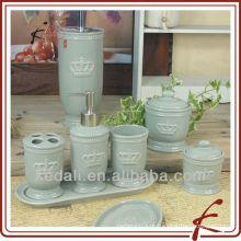 Estilo quente único banho de cerâmica / banheiro / Washroom Acessórios Set