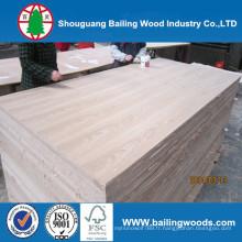 Panneau en MDF plaqué bois / MDF encastré en bois naturel
