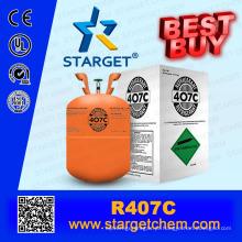 REFRIGERANTE GAS R407C de alta pureza com bom preço