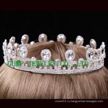 Горячая корона rhinestone девушки дня рождения тиары сбывания