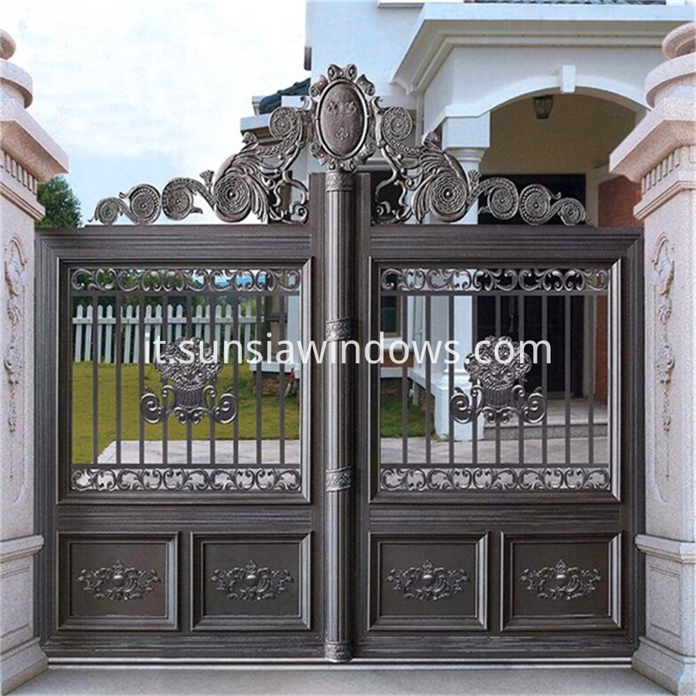 Outdoor Aluminum Main Gate