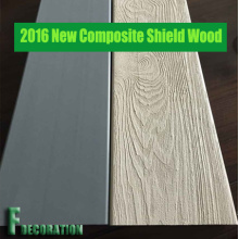 Schild Kunststoff Holz Composite WPC Terrassendielen Terrasse