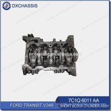 Genuine Transit V348 Bloque de cilindros cortos Assy 7C1Q 6011 AA