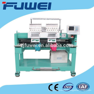 high speed Double heads cap embroidery machine