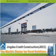 Diseño de construcción Estructura de acero Almacén de cobertizo
