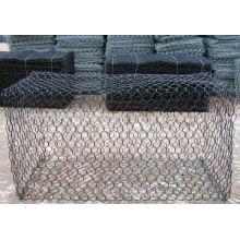 PVC revestido malha de arame pesada (Gabion Box)