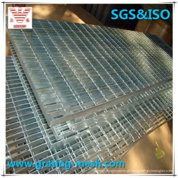 Liso / Serrilhado / Galvanizado / Não tratado / Grade de aço