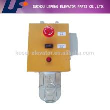 Caja de inspección de pozos, inspección de pozos de piezas de elevador
