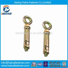 China Suppliers Color Zinc Plated Expansion Eye Bolts