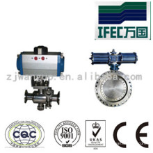 Sanitary Stainless Steel Pneumatic Actuators