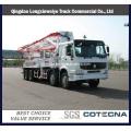 HOWO 8X4 Truck Mounted Concrete Pump Truck 28-48m