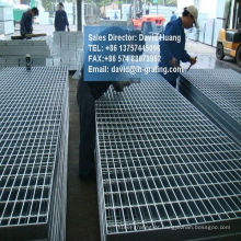 Grades de Metal galvanizado Electroforged para passarela