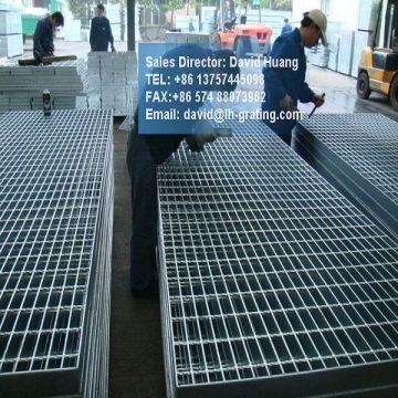 Laufsteg-Stahl verzinkt Gitter