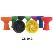 Bacia colorida do cachimbo de água do silicone de Amy Shisha Bowl Deluxe
