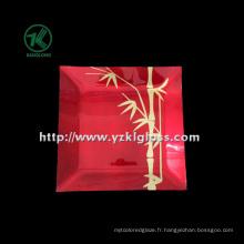 Plaque en verre de couleur murale simple par SGS (KLP90303-2B-2)