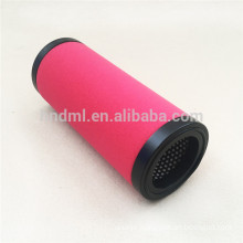 Replacement air compressor air filter cartridge MTP-95-559 cross reference sponge precision filter element support OEM