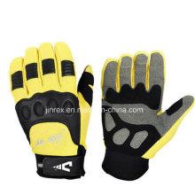 Populärer radfahrender Motorrad-Motorrad-voller Finger-Gel-Polsterungs-Handschuh