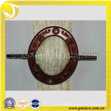 sell well ellipse curtain buckle