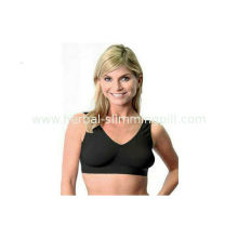 Women Ahh Sexy Oem Products Of Bra , Comfortable Nylon V Neck