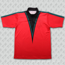 2015 Fashion Crimson Sublimation Tennis Wear