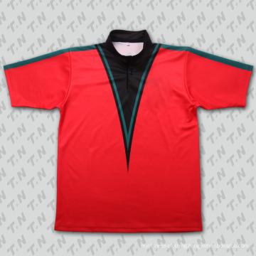 2015 Fashion Crimson Sublimation Tennis Wear