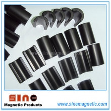 Black Epoxy Half Ring Neodymium Magnet