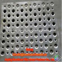 Hochwertige silberne verzinkte Stanzloch-Maschen mit vernünftigem Preis im Laden
