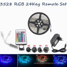 12v flexible waterproof led lights 5050 3528 30led 60led 12 volt led light strips with remote