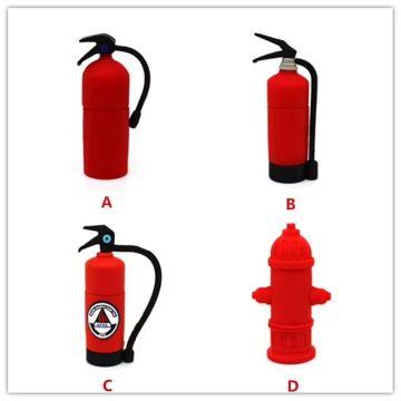 Novo estilo hidrante pvc usb flash drive