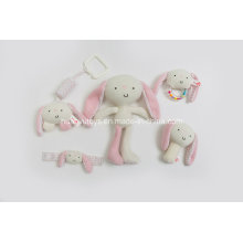 Factory Supply Knit Sweater Fabric Baby Item Set Gift Toy