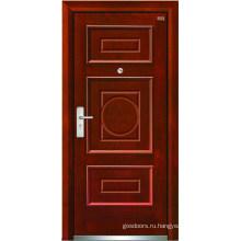 Стальные деревянные двери (LT-202)