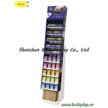 Cardboard Display Stand, Counter Display, SGS Approved Floor Display Stand, Pop Display (B&C-A062)