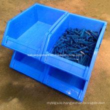 Warehouse Stackable Plastic Spare Parts Storage Bin