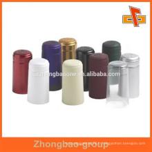 Étiquette thermo-étanche en plastique avec étiquette thermique avec impression couleur pour bouchon de bouteille de vin