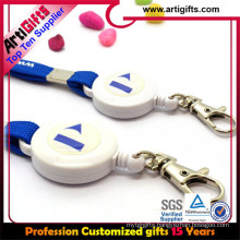 China good promotional badge reel with lanyard