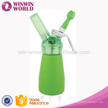 Neue Design 250 ML Aluminium Bunte Sahne Whipper / Dispenser