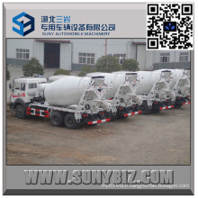 North Benz 10 Wheeler 10 Cbm Transit Mixer Truck