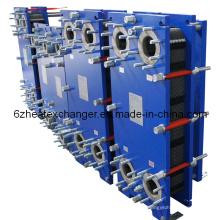 Intercambiador de calor de placas para intercambiador de calor de agua a agua modelo A4m