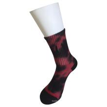 Demi-coussin Coton Fashion Logo Sport Tie Dye Socks (JMCC11)