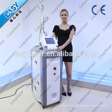 Machine fractionnaire d'élimination des cicatrices d'acné laser co2