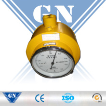 Medidor de flujo de gas para gas corrosivo