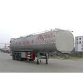 12.6m Tri-essieu Milk Transport Semi Trailer