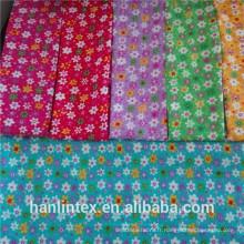 Tissu 100% coton teint / couleur unie en bannière brossé C20S * C10S / 40 * 42 * 44 '' Factory