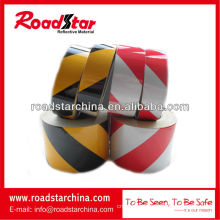 Engineering grade slant stripe reflective tape reflective warning tape